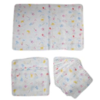 Bộ 1 khăn xô tắm 65x110cm + 2 khăn xô lau đầu 31x80cm + 5 khăn xô lau mặt 31x31 cm