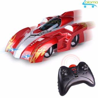 Ô tô leo tường điều khiển từ xa mẫu xe đua siêu hạng KIDNOAM (Red)