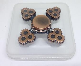 Con quay Spinner bằng đồng nguyên chất (4 cánh đồng)