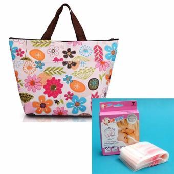 Bộ túi giữ nhiệt bảo quản sữa mẹ + túi trữ sữa Sunmum