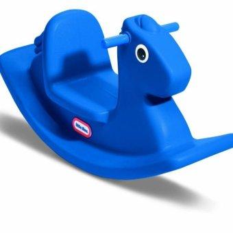 Thú nhún ngựa xanh cao cấp Little Tikes Rocking Horse Blue