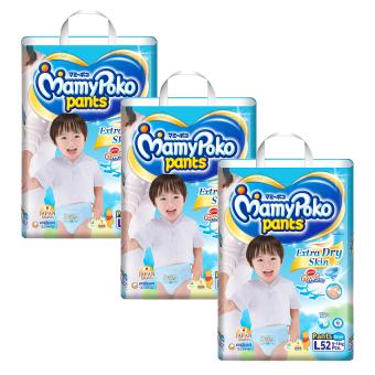 Bộ 3 tã quần Mamypoko L52 (Boy)