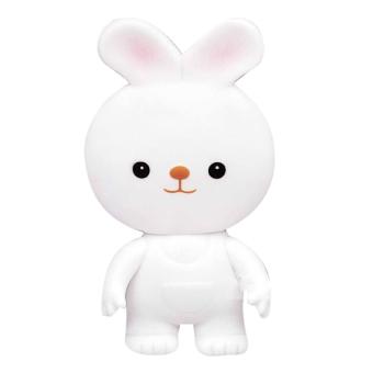 Đồ chơi chút chít Thỏ Toyroyal 114372 (Trắng)