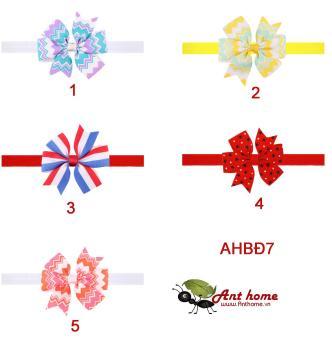 Combo 2 băng đô phụ kiện tóc handmade cho bé gái AHBĐ7 (số 2 và 3)