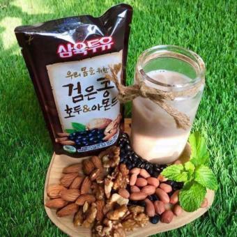 Thùng 20 Bịch 200ml Sữa Óc Chó, Đậu Đen, Hạnh Nhân Hàn Quốc