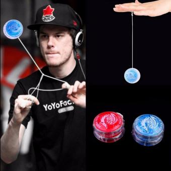Fancyqube Light Up Yoyo Trick Yo Yo Child Clutch Mechanism Toy Speed Ball Return Top - intl