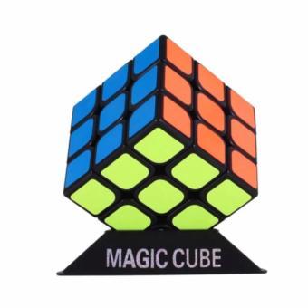 Đồ chơi phát triển kỹ năng Rubik' Cube 3 x 3 (Đen)