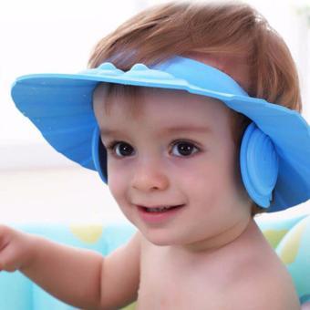 Mũ gội đầu chán nước có vành che tai