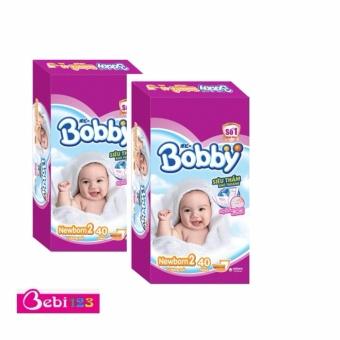 Combo 2 Gói Tã Dán Sơ Sinh Bobby Newborn2-40
