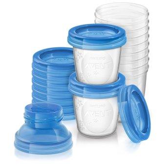Bộ 10 ly cốc trữ sữa VIA Philips Avent SCF618-10 180ml