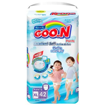 Tã quần Goon Super Jumbo XL42 (12-17 kg)