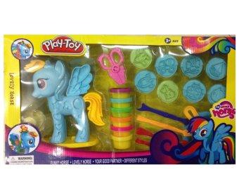 Bộ đồ chơi đất nặn Lovely Horse (xanh)