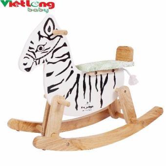 Ngựa gỗ bập bênh IQ Toys