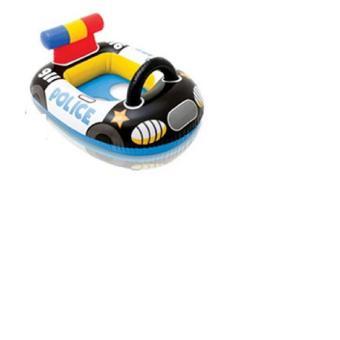 Phao bơi xỏ chân hình ô tô cảnh sát ngộ nghĩnh cho bé (màu xanh)