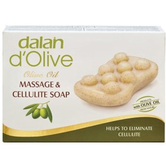 Xà phòng massage điều trị rạn da Dalan D'olive Olive Oil Massage & Cellulite Soap 150g