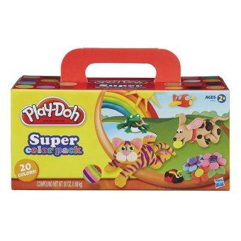 Bộ bột nặn 20 màu Play-Doh Super Color 20-Pack