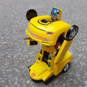 Mua Xe ô tô biến hình siêu nhân ( vàng ) T2-58 giá tốt nhất