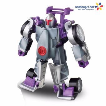 Đồ chơi Robot Transformers Rescue Bots Morbot biến hình ô tô(Purple)