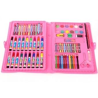 Bộ bút chì màu 86 món Chipxinhxk (Hồng)