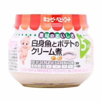 Súp cá thu trắng và khoai tây nghiền (Kewpie) 70g(Vegetable)