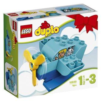 Hộp Lego Duplo 10849 Máy bay đầu tiên 10 chi tiết