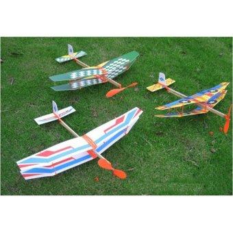 Bộ 3 máy bay dây thun cao cấp loại có 2 tầng cánh