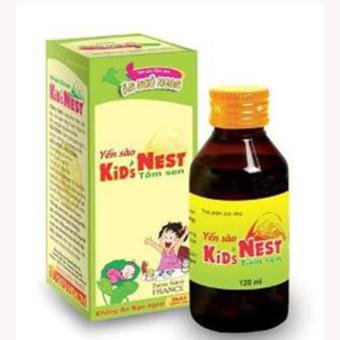 Siro Yến sào Kids Nest Tâm Sen 120ml ( Xanh )