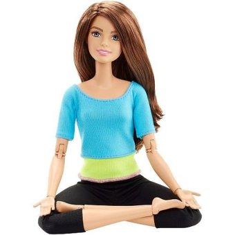 Búp bê Yoga BARBIE màu xanh đậm