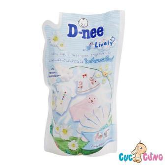 Nước giặt xả Dnee gói 600ml Thái Lan (trắng)