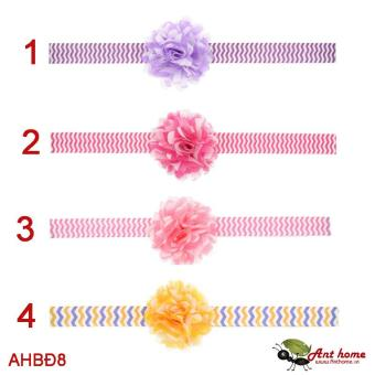 Combo 2 băng đô cao cấp phụ kiện tóc cho bé gái AHBĐ8 (số 1 và 3)