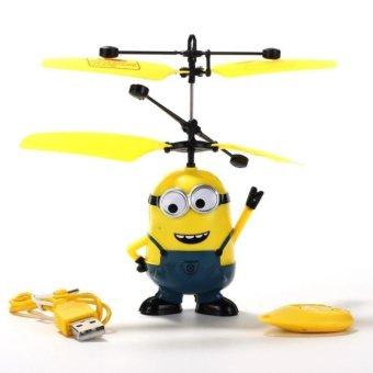 Máy bay điều khiển từ xa cảm ứng Minion Trang Anh (Vàng)