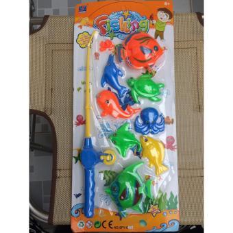Bộ đồ chơi câu cá nam châm
