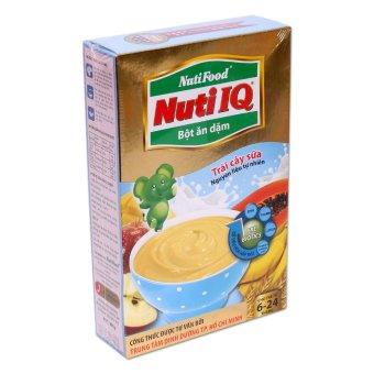 Bột ăn dặm trái cây gạo sữa Nuti IQ NutiFood 200g