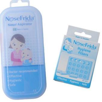 Bộ Dụng cụ hút mũi Nosefrida và Hộp miếng lọc ngăn khuẩn