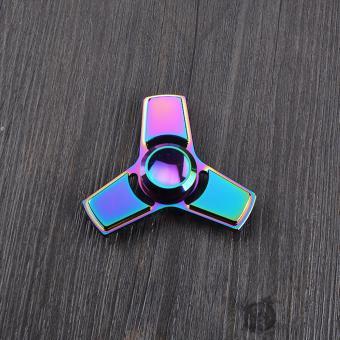 Con Quay đa sắc mầu bằng kim loại Fidget Spinner không ma sát xả stress VS36