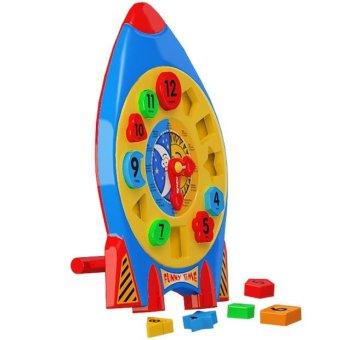 Bộ đồ chơi xếp hình 238 (L10- Vỉ đồng hồ xem giờ)
