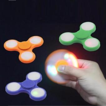 Đồ chơi: CON QUAY FIDGET SPINNER - Có đèn LED (Xả hàng - Siêu khuyến mại)