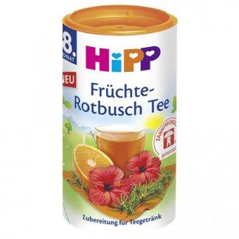 Trà cốm HiPP hòa tan hoa quả hoa dâm bụt với Isomaltulose 200g