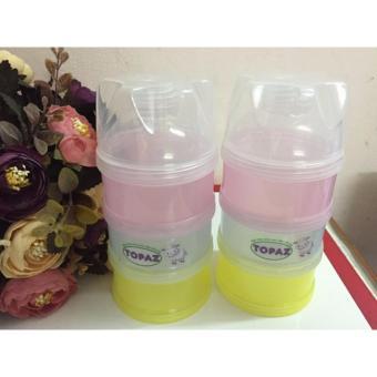Bộ chia sữa tiện dụng cho bé