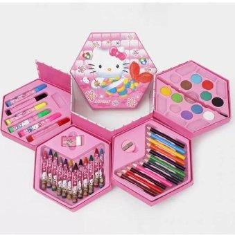 Cùng bé yêu phát triển tư duy sáng tạo với HỘP MÀU 42 MÓN 4 loại màu.