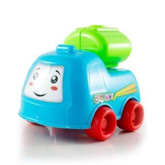 Bộ 4 Ô tô nhí - Xe ben, xe bồn, xe cẩu, xe cứu hỏa