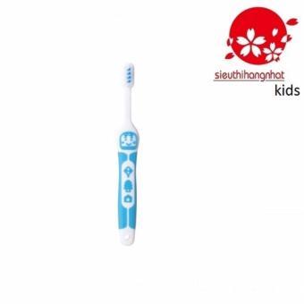 Bàn chải đánh răng Nhật EBISU B-S742 Cho Trẻ Từ 3 tuổi (Xanh Ngọc)