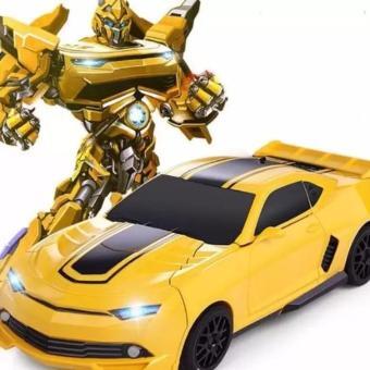 Đồ chơi ô tô biến hình thành Robot dùng pin, phát nhạc ( vrg007991714 - MS4 )