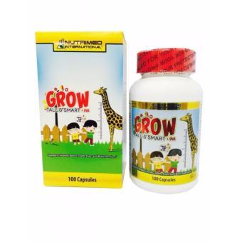 Viên uống tăng trưởng chiều cao Nutrimed Grow Tall & Smart hộp 60 viên