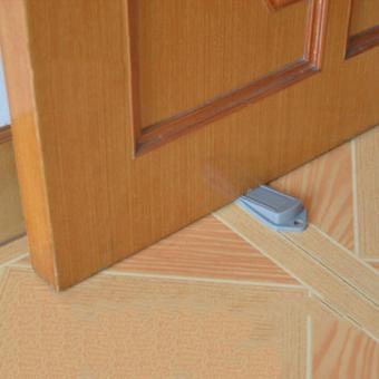 Dụng cụ kẹp chặn cánh cửa đặt sàn an toàn cho bé