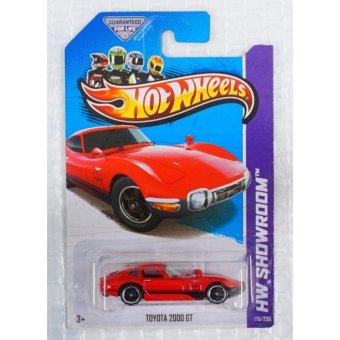 Xe ô tô mô hình tỉ lệ 1:64 Hot Wheels Toyota 2000 GT (Đỏ)