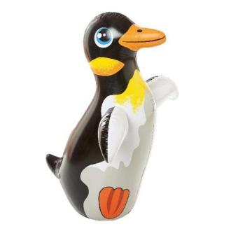 Lật đật bơm hơi hình chim cánh cụt Intex 44670