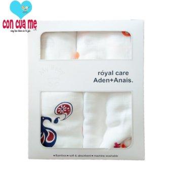 Bộ 2 khăn sợi tre siêu mềm A&A diwali bambo soft swaddles