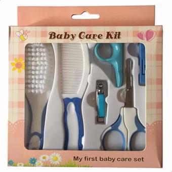Bộ dụng cụ chăm sóc móng tay cho bé Baby Care Kit (Xanh dương nhạt)