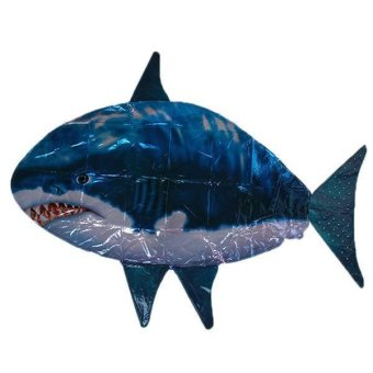LALANG Kids Baby Air Swimmers Shark Remote Control Replacement Balloon Blue - intl